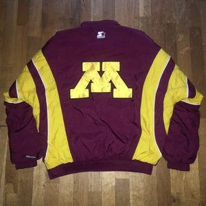 Minnesota Gophers Starter Winter Jacket